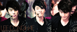 Donghae Banner --PLEASE FULLVIEW-- by loopymonk