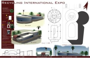 Architectural Design Exhbition by shadyonly