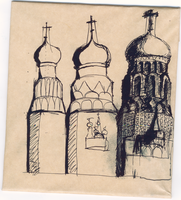 The Tower of Church of the Savior on Blood by VLStone
