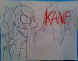 Ponyfied Kane by The-Sheamus-MLP