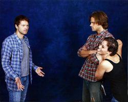 Misha Jared Photo Op by otterling