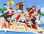 Happy lifeguards by soma011
