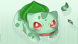 Bulbasaur Wallpaper by SeviYummy