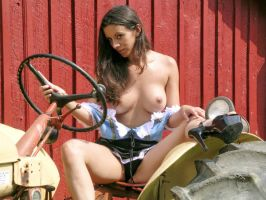 Tractor Girl by K9joe