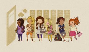 MLP: First Day of School by teaganwhite