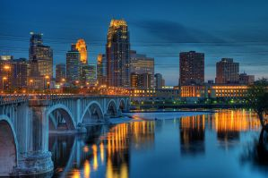 HDR Dusk Skyline by tnp651