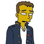 Simpsonized Chris Martin by GreenDayFanGirl