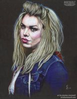 Rose Tyler - Billie Piper by The-Art-of-Ravenwolf