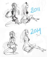 Redraw- 2011/2014 by littleWildviolet