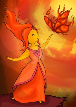 Flame Princess (commission) by the-hangman-project