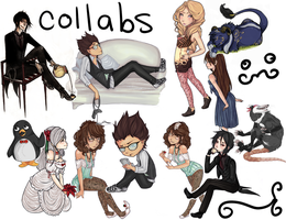 collab dump by SweetButEvil