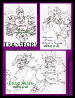 Transformer Commission Promo by MisterFerv