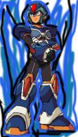 Megaman X SF4 Style by daigospencer