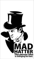 11th Doctor - Mad Hatter by Mad42Sam