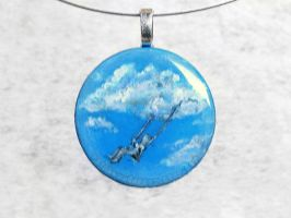 Cloud Swing Pendant by sobeyondthis