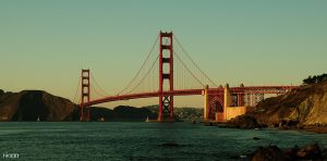 Golden Gate II by riiaaa