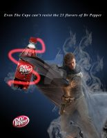 Dr Pepper vs The Cape by GaladrielElvenQueen