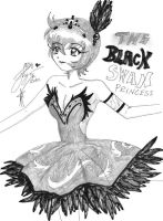 Kraehe ..::The Black Swan::.. by Princess-Kraehe