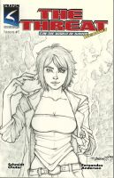 The Threat Sketch Cover by EsotericCreator