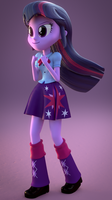 Twilight Sparkle Blender Test by Jarg1994