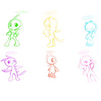 hero chao sketches by jalajalapeno