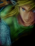 THE LEGEND OF ZELDA: TWILIGHT PRINCE LINK PORTRAIT by BUMCHEEKS2
