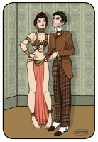 Mme De Libes and Mr Doyle by LaTaupinette