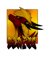 AT-Blaize badge by DarkRainbowDragon