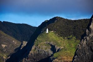 Lighthouse on Mountain by MisterDedication