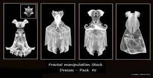 Fractal Stock - Dress Pack VII by rockgem