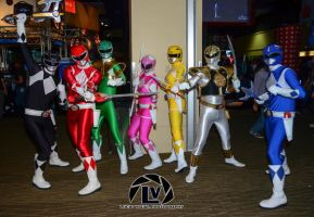 Mighty Morphin Power Rangers by LucidVisualDesigns
