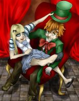 A Hatter and His Alice by ShioriSohma