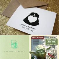 Star Wars Fathers Day Cards by Kitta-Furen