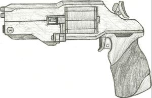 UNSC Revolver Re-redesigned by Chigiri16