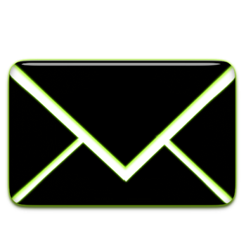 Neon Mail icon by nicowolveus