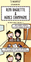 Remi Baguette y Agnes Champagne by Scout-Finch