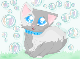 BUBBLES/ms paint by XxsilvixX