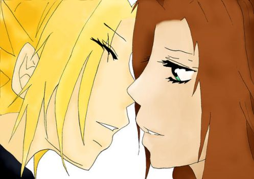 --Our last kiss--    clerith by xXLittleStrifeXx