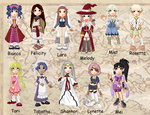 Rune Factory Doll Collection by cutepiku