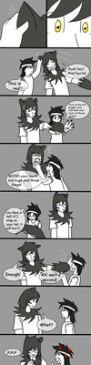 Afraid of little brother pg3 by sandriux2000