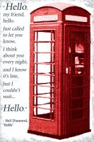 Red Telephone Box by wolfoz