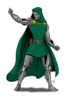Doctor Doom by MikeMahle