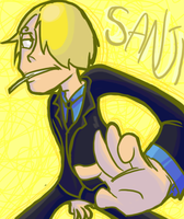 Sanji by RKPiratedrawer