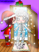 Mistletoe - CHRISTMAS DRAWING CHALLENGE - DAY1 by TheLoneRestlessRose