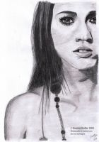 Megan Fox Drawing by lilmisscoolio