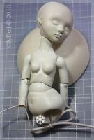 bjd in progress,body.. by ShirrStoneShelter