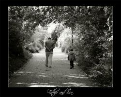father and son by fxcreatography