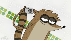 RIGBY WITH CAM by voltar517