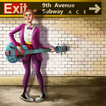 9th Avenue Subway by Clotaire