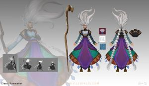 Summoner Orthographic by sweethaven